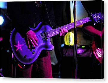 Guitar Player Canvas Print by Rawimage Photography