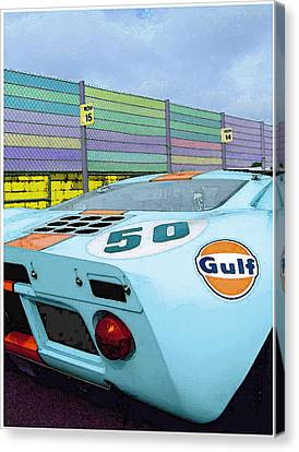 Gulf 50 Canvas Print by Kenneth Breeze