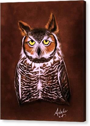 Gullie Canvas Print by Adele Moscaritolo