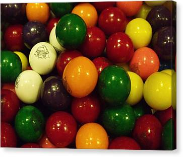 Canvas Print - Gumballs by Anna Villarreal Garbis