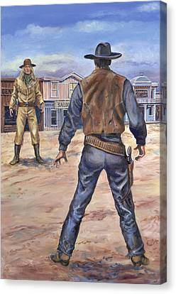 Gunslingers Canvas Print