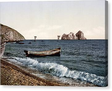 Gursuff - Crimea - Ukraine Canvas Print by Bode Stevenson