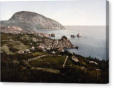 Gursuff - Crimea - Ukraine Canvas Print by International  Images