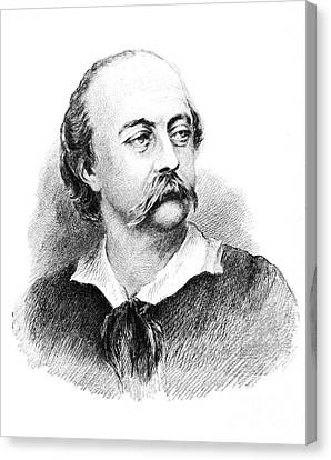 Gustave Flaubert, French Author Canvas Print by Photo Researchers