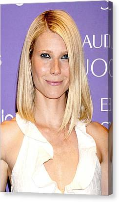 Gwyneth Paltrow In Attendance For Debut Canvas Print by Everett