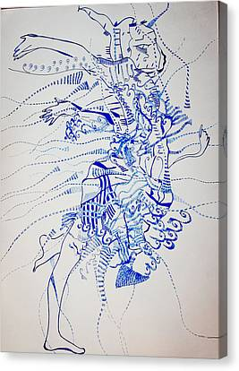 Gymnast Canvas Print by Gloria Ssali