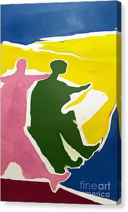 H-w-10-21-12-c Canvas Print by Robert Haigh