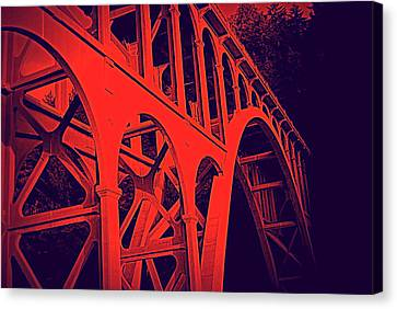 Haceta Head Bridge Canvas Print