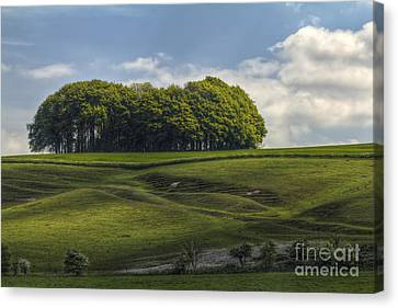 Hackpen Hill Canvas Print
