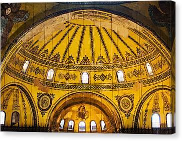 Hagia Sophia Architecture Canvas Print by Artur Bogacki