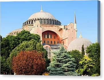 Hagia Sophia Canvas Print by Artur Bogacki