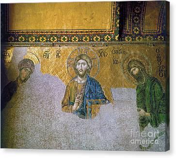 Hagia Sophia: Mosaic Canvas Print by Granger