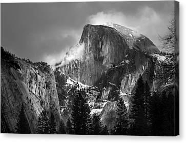 Half Dome Canvas Print by Jeff Grabert
