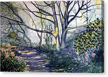 Halfway There Dane's Dyke Canvas Print