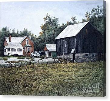 Haliburton Farm Canvas Print