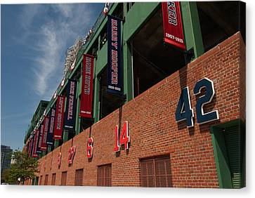 Hall Of Famers Canvas Print by Paul Mangold
