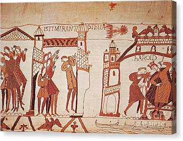 Halleys Comet, Bayeux Tapestry Canvas Print