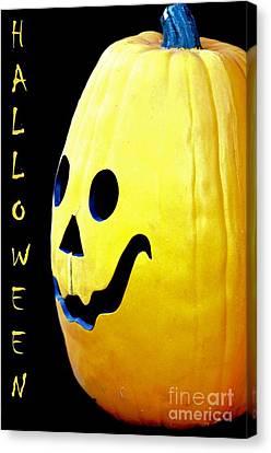 Halloween 1 Canvas Print by Maria Urso