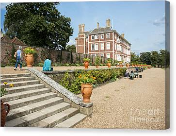 Ham House - Gardens Canvas Print by Donald Davis