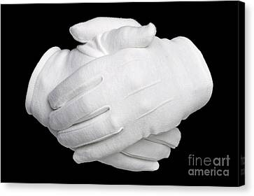 Hands Held Canvas Print by Richard Thomas