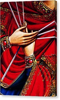 hands of Jesus Canvas Print by Aleksandr Volkov