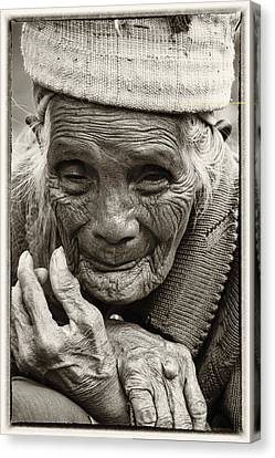 Hands Of Time Canvas Print by Skip Nall