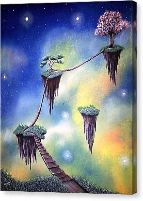 Hanging Together Canvas Print by Edwin Alverio