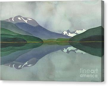 Hankin Lake Canvas Print by Anne Havard