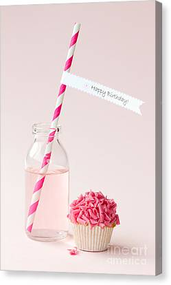 Happy Birthday Canvas Print by Ruth Black
