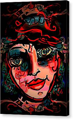 Happy Girl Canvas Print by Natalie Holland