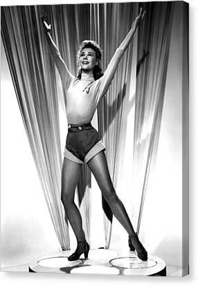 1951 Movies Canvas Print - Happy Go Lovely, Vera-ellen, 1951 by Everett