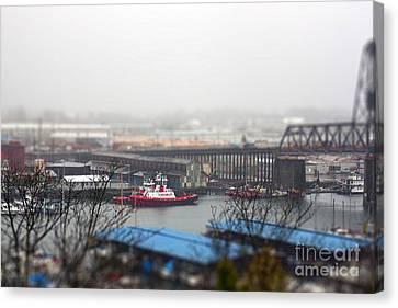 Harbor View Canvas Print by Billie-Jo Miller
