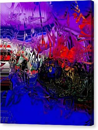 Harbour Canvas Print by Oksana Linde