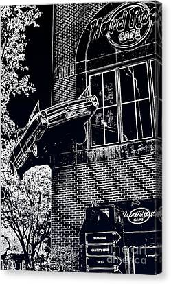 Canvas Print featuring the photograph Hard Rock Caddy by Joe Finney