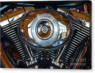 Harley39 Canvas Print by Newel Hunter