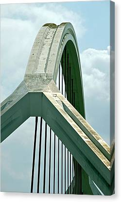 Harp Bridge Canvas Print