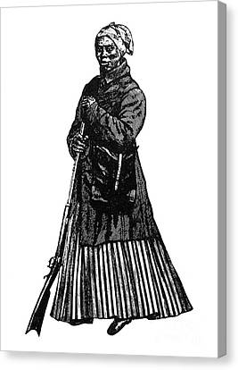 Harriet Tubman (c1823-1913) Canvas Print by Granger