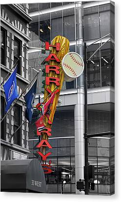 Harry Caray's Canvas Print