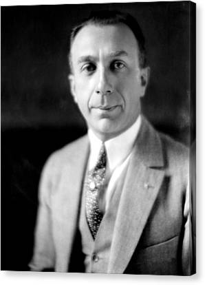 Harry Warner, 1881-1958, Co-founder Canvas Print by Everett