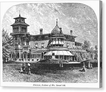 Hartford: Armsmear Mansion Canvas Print by Granger