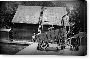 Canvas Print featuring the photograph Harvest by Bonfire Photography