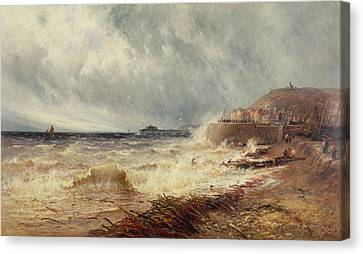Hastings Canvas Print by Gustave de Breanski