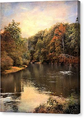Hatchie River Canvas Print by Jai Johnson