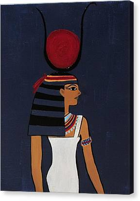 Hathor Canvas Print by Diana Martinez