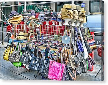 Hats And Handbags Canvas Print by Paul Ward