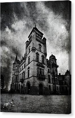 Haunted 2 Canvas Print by Laura Melis