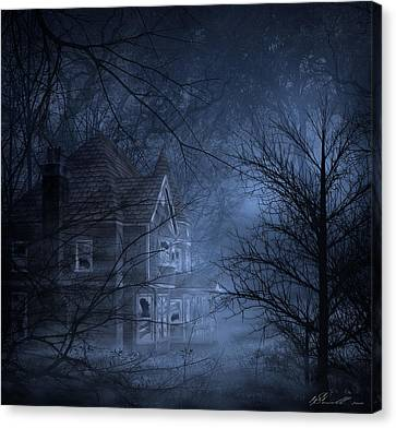 Haunted Place Canvas Print by Svetlana Sewell