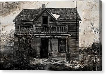 Haunting East Canvas Print by Jerry Cordeiro
