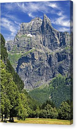 Canvas Print featuring the photograph Haute Savoie by Rod Jones