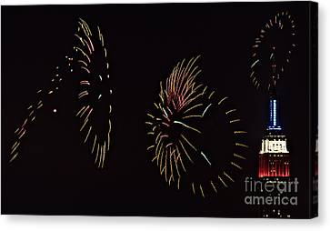 Have A Fifth On The Fourth Canvas Print by Susan Candelario